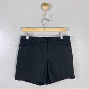 "NWT WHBM 'The 5"" Short' Black Shorts, 6"